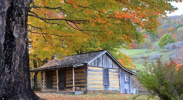Historic Cabin Smoky National Park