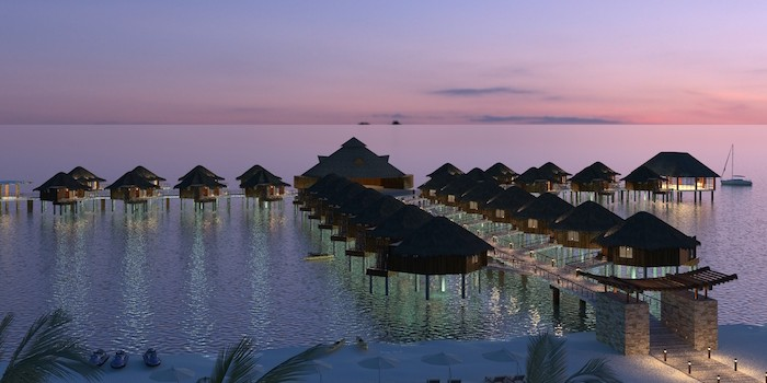 Luxury Mexico Over The Water Bungalows