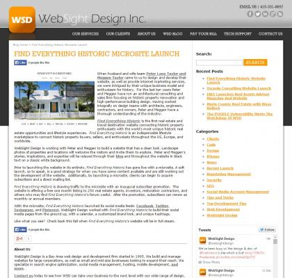 WebSight Design - September 1, 2014