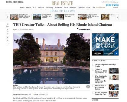 Wall Street Journal Mansion - April 24, 2015