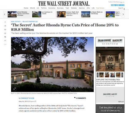 Wall Street Journal Mansion - May 26, 2015