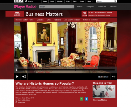 BBC Radio 'Business Matters' - July 24, 2015